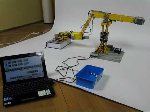 Lego PF Programmable Arm - YouTube