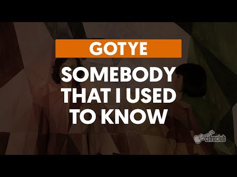 Somebody That I Used To Know - Gotye (aula de violão) mp3