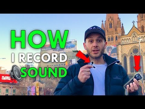 How To Record Clean Sound In 360 Videos 🔉