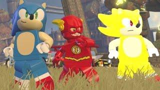 Sonic Vs. Super Sonic - 2 Player Sonic Races & Free Roam / Quests