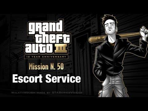 GTA 3 - iPad Walkthrough - Mission #50 - Escort Service