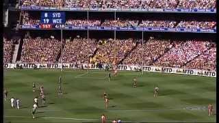 2006 AFL Grand Final West Coast v Sydney (1st Half)