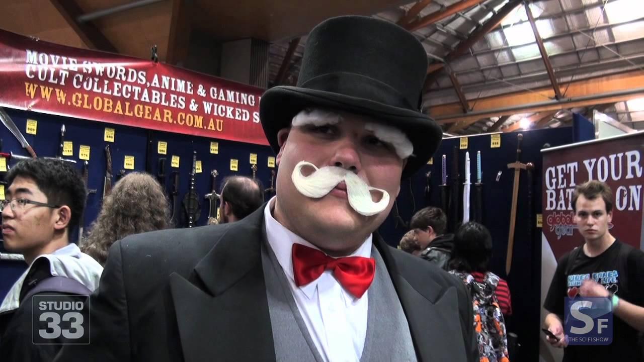 monopoly man cosplay sydney supanova 2012