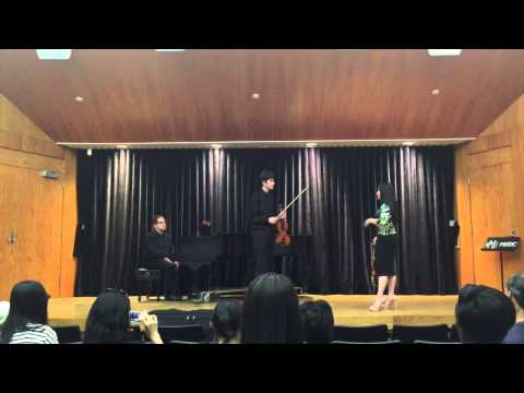 Robert Sanders- Sarah Chang Masterclass (2/2)