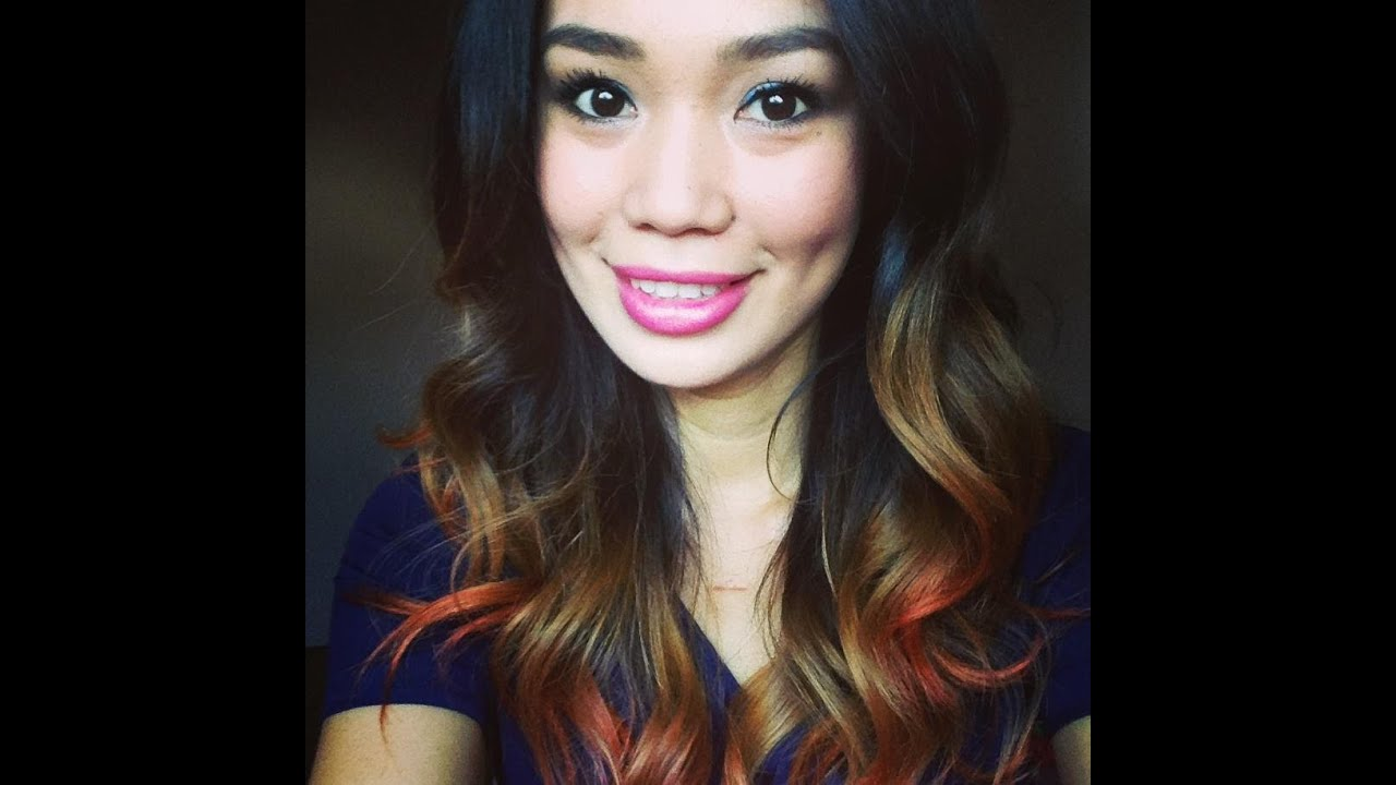 DIY Ombre39 Hair Using Crepe Streamer  YouTube