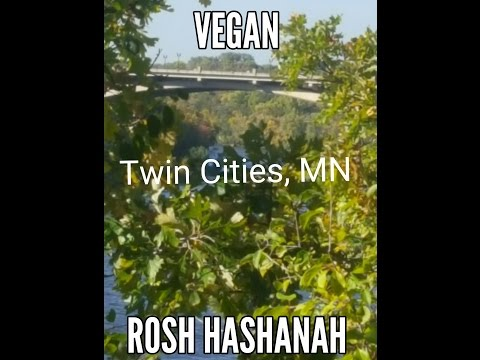 How to be Vegan for Rosh Hashanah in Saint Paul/Minneapolis, MN