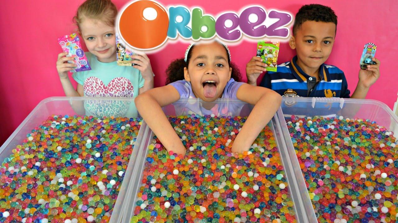Orbeez Challenge Shopkins Lego Minifigures Mlp