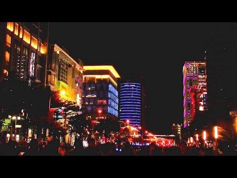2017臺北信義區商圈跨年燈飾.夜景 Taiwan Taipei beautiful night view - YouTube