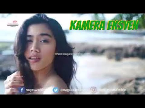 Aksi Model Cantik di Syuting Klip RizaVito Gara Gara Cinta #DibalikLayar