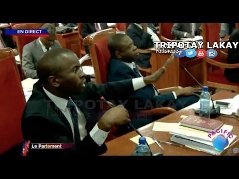 Senateur Senatus fè konen ke li regrèt li pa wè KRÈK KOKO chita nan sena a...