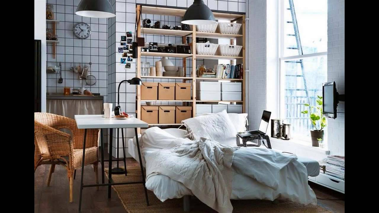 Small Space Living Ikea Super Inspiration Youtube