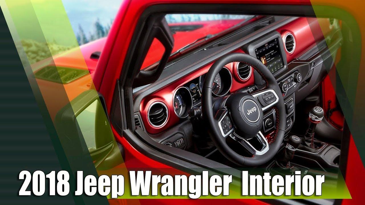 All New 2018 Jeep Wrangler JL Interior Finally Revealed