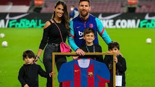 LEO MESSI TRIBUTE by TEAMMATES & FAMILY 🐐