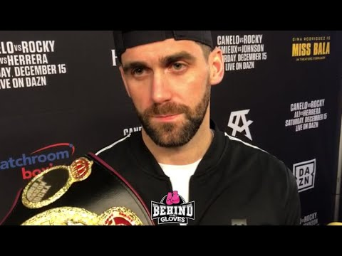 """""""HE'D BE STUPID""""- ROCKY FIELDING RESPONDS TO QUESTION IF HE THINKS CANELO IS 'OVERLOOKING' HIM"""