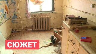Жители одного из домов в пригороде Якутска выживают в сырости