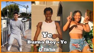 Burna Boy ye dance challenge | TikTok Africa  ???? #YeChallenge #YeDance ????#Burnaboy