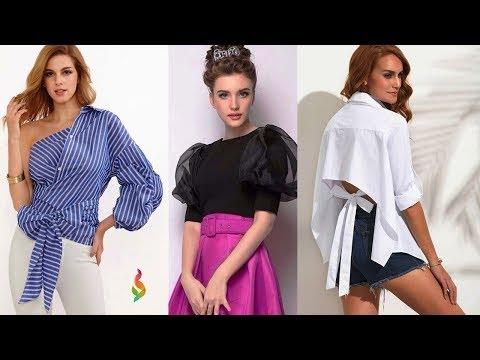 Модные блузки лето 2018 Фото модных тенденций и новинок женских блузок, тренды лета, стильные образы