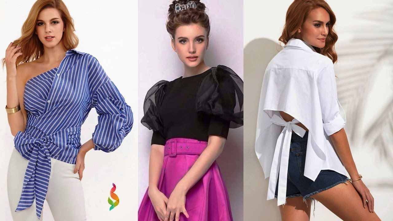 Модные блузки лето 2019 Фото модных тенденций и новинок женских блузок, тренды лета, стильные образы