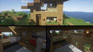 Comment faire une maison de survie Minecraft