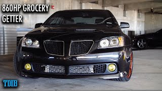 860HP Turbo Pontiac G8 Review: Boost and Groceries!
