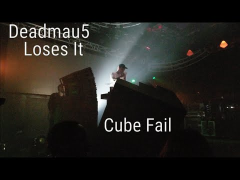 Deadmau5 Cube Critical Technical issues! Stage Failure. (Daft Punk+A Seed) Park City Live 2018 Day 1