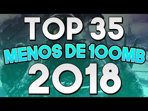 💥 TOP 35 JUEGOS DE POCOS REQUISITOS QUE PESAN MENOS DE 100 MB 2018 🎮 ByLion Tops