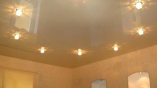 видео Натяжные потолки в Митино