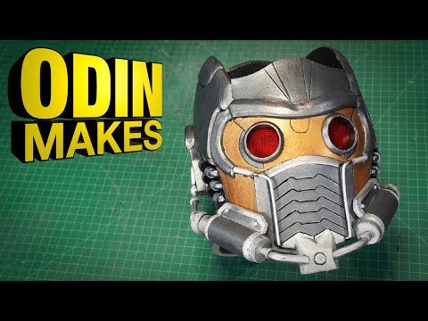 Odin Makes: Star-lords Helmet from Guardians of the Galaxy