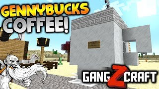 "GangZcraft Modded Minecraft Ep02 - ""GENNYBUCKS COFFEE DELIVERY!!!"" - Minecraft Modpack Let"