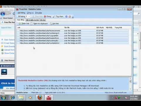 Hướng dẫn sử dụng Thuần Việt Mediafire Getter trên Windows 7.flv