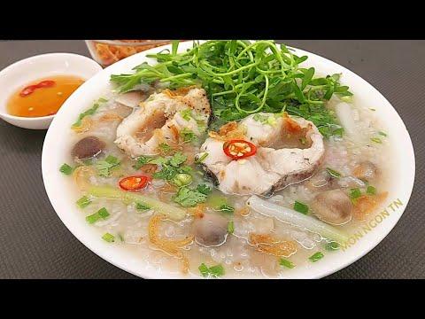 CHÁO CÁ LÓC - Cách nấu Cháo Cá Lóc nước ngọt thơm cá không bị tanh