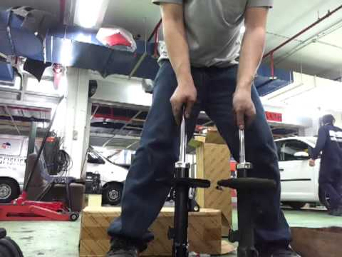 Shock Absorber Problem explain by AK Workshop