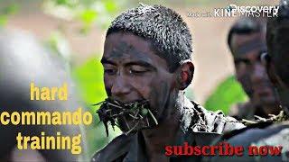 Indian army commando training and  ghorakha training
