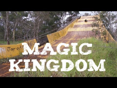 Magic Kingdom -- Abandoned Amusement Park -- Funpark modern ruins -- Sydney, Australia