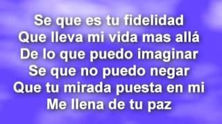Marcos Witt Tu Mirada - Letra