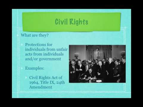 Gov Review Video #46: Civil Liberties and Civil Rights - A Brief Intro