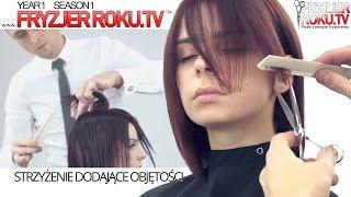 Strzyzenie dodające objętości ✁ ✂ ✃ Graduated haircut FryzjerRoku.tv
