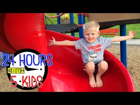 24 Hours with 5 Kids on a Spring Day