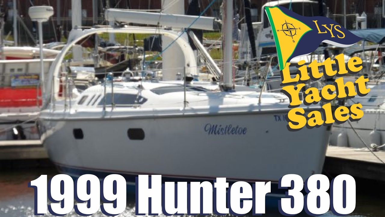 Sold 1999 Hunter 380 Sailboat For Sale At Little Yacht Sales Kemah Texas