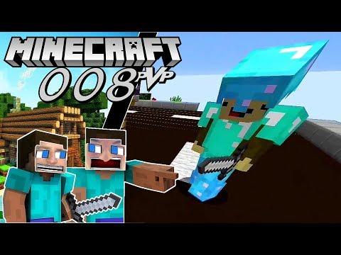 Minecraft PvP Gameplay 008 ⚔️  Dia Monkey  2K ♻REUPLOAD♻