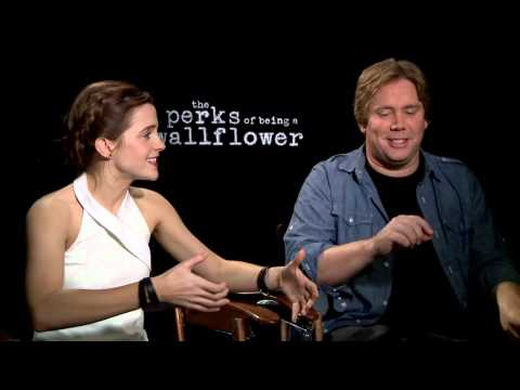 The Perks Of Being A Wallflower - Interview With Emma Watson And Stephen Chbosky
