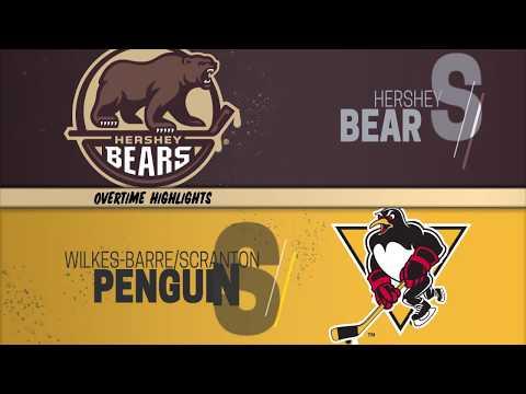 Wilkes-Barre/Scranton Penguins Vs Hershey Bears 12-08-2019