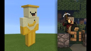 Skin Minecraft Oops Banana | Minecraft Hướng Dẫn Xây Dựng