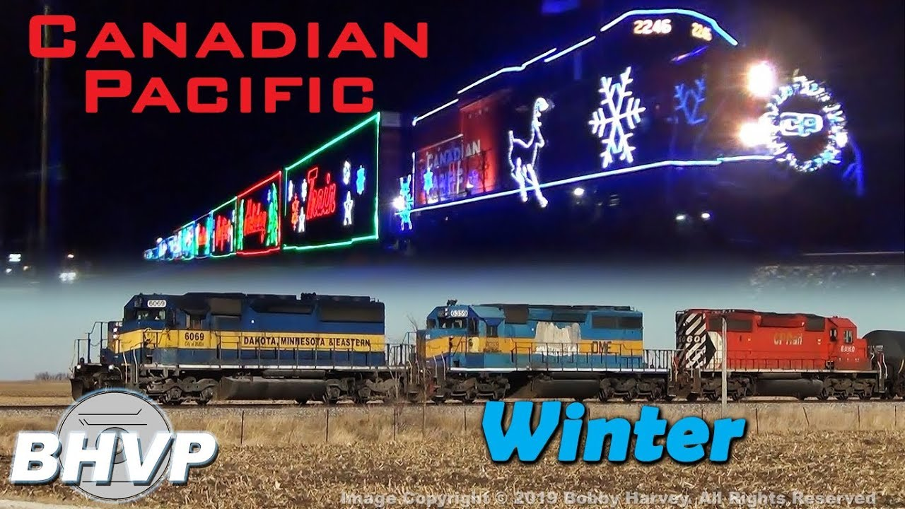 Cp Christmas Train Schedule 2019 Canadian Pacific of the Midwest: The Holiday Train & Other Trains