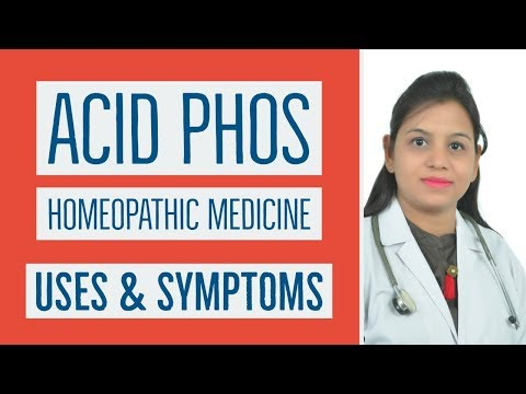 Acid Phos Homeopathic Medicine Uses S