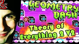 One of EricVanWilderman's most viewed videos: Geometry Dash | Theory of Everything 2 v2 by Neptune COMPLETE