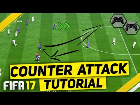 FIFA 17 ATTACK LIKE A PRO TUTORIAL - SIMPLE GUIDE TO SCORE FAST & EASY GOALS - MOST EFFECTIVE TRICKS