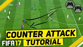 Video FIFA 17 ATTACK LIKE A PRO TUTORIAL - SIMPLE GUIDE TO SCORE FAST & EASY GOALS - MOST EFFECTIVE TRICKS download MP3, 3GP, MP4, WEBM, AVI, FLV Agustus 2018