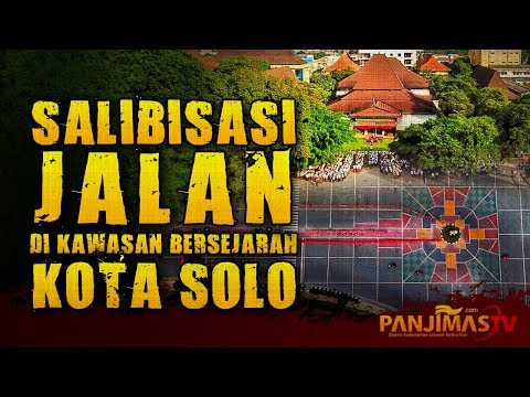 Jalan Salib di Kawasan Bersejarah Kota Solo Depan Balaikota | Tanggapan Tokoh Islam
