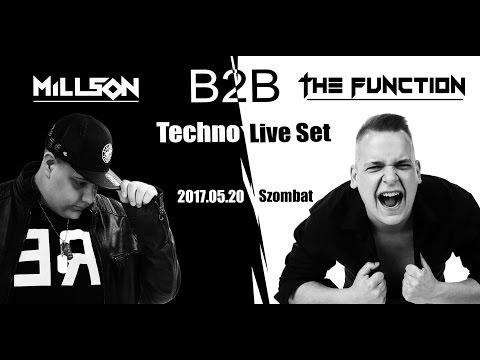 Millson b2b The Function Techno Live Set 2017  05 20